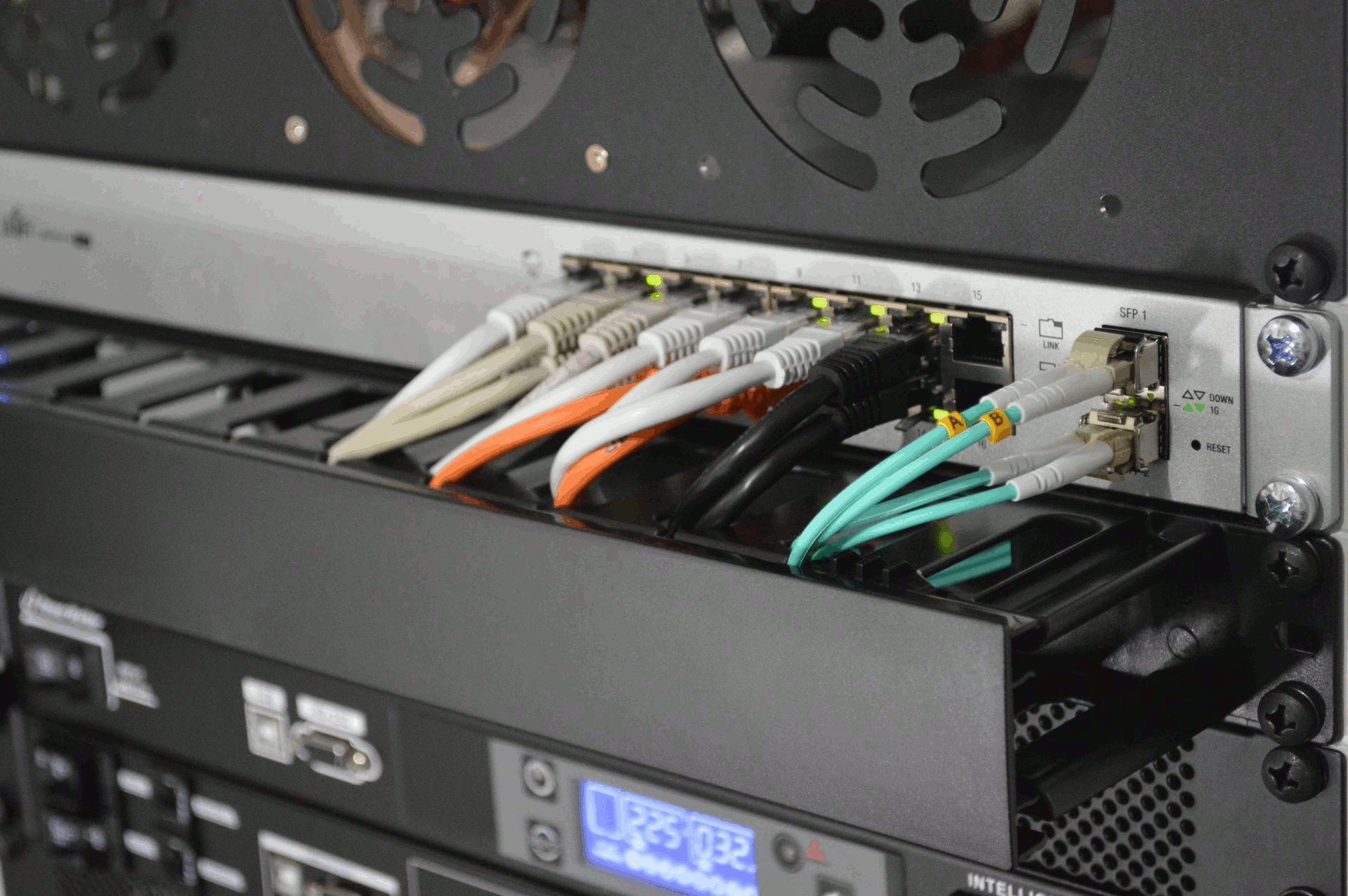 A computer network switch